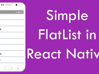 React Native Expandable ListView in Android iOS Example Tutorial