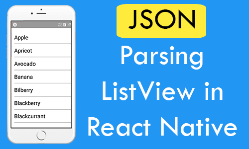 React Native JSON Parsing ListView From MySQL Database