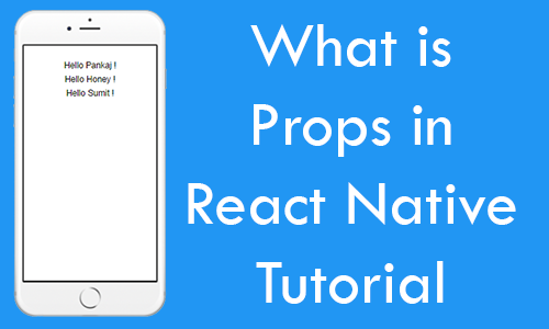 What is Props in React Native Explained Tutorial with Example
