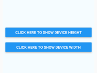 React Native Get Device Height Width on Button Click