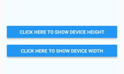 Get Device Height Width