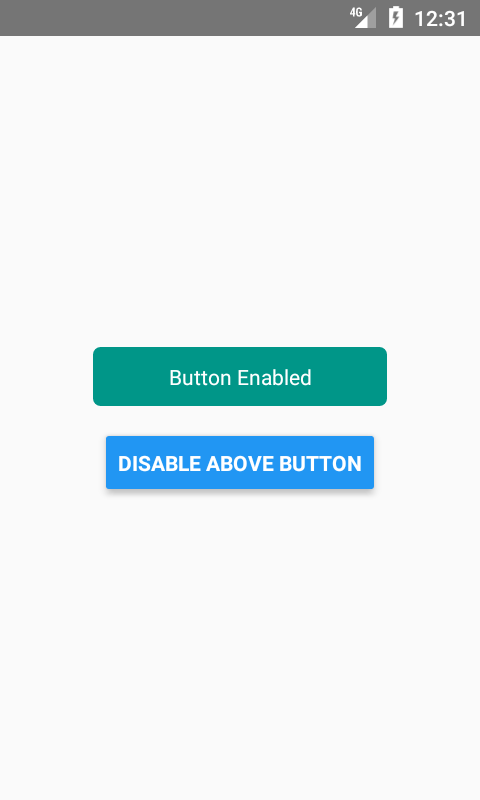React Native Create Disabled Button State Using TouchableOpacity