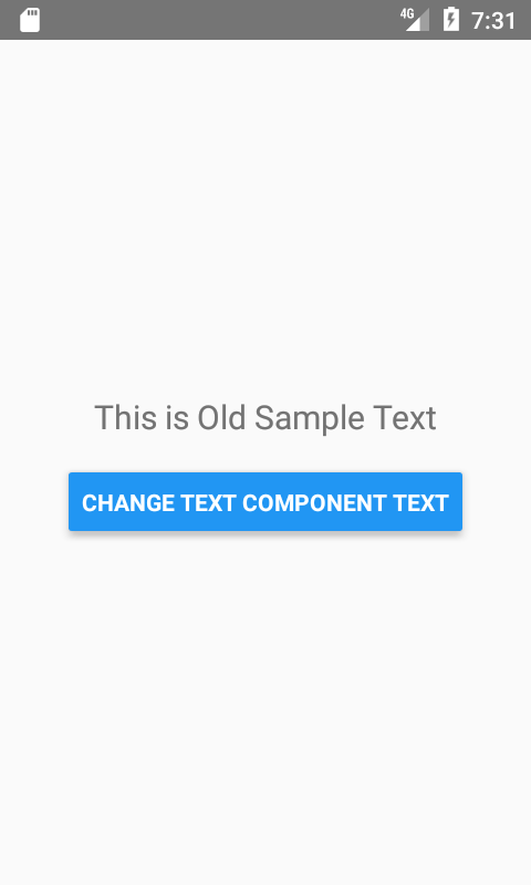 React Native Set Change Text Component Value Dynamically on Button Click