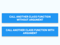 How to Call Another Class Function From Default Class in React Native
