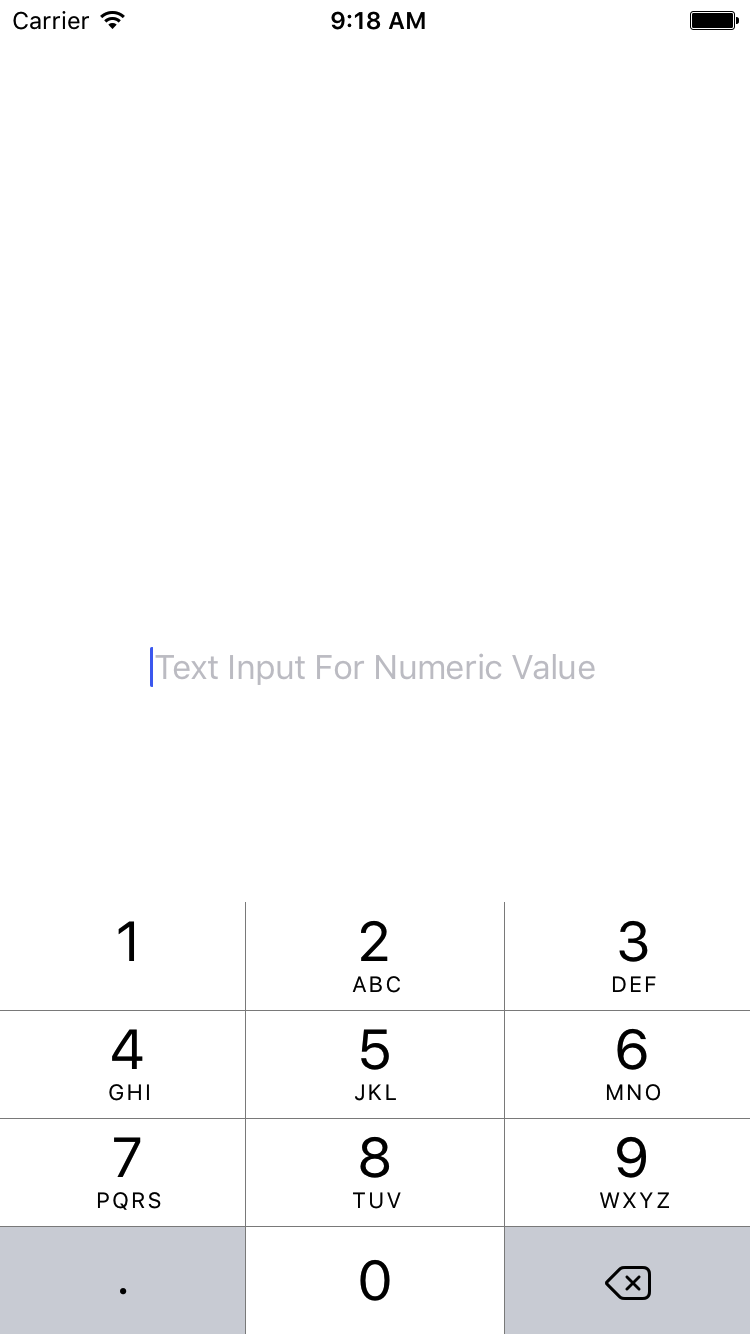 How to Get Only Numeric Value From TextInput in React Native