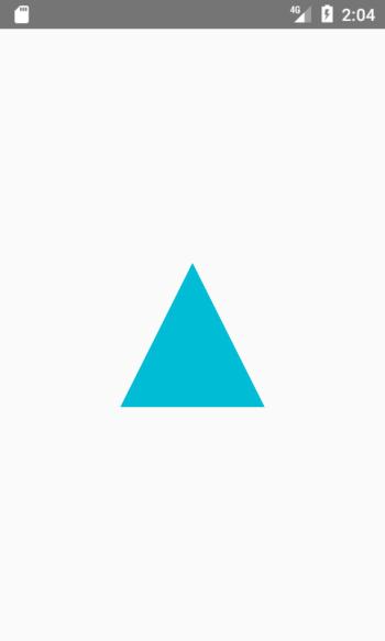 Triangle Shape View