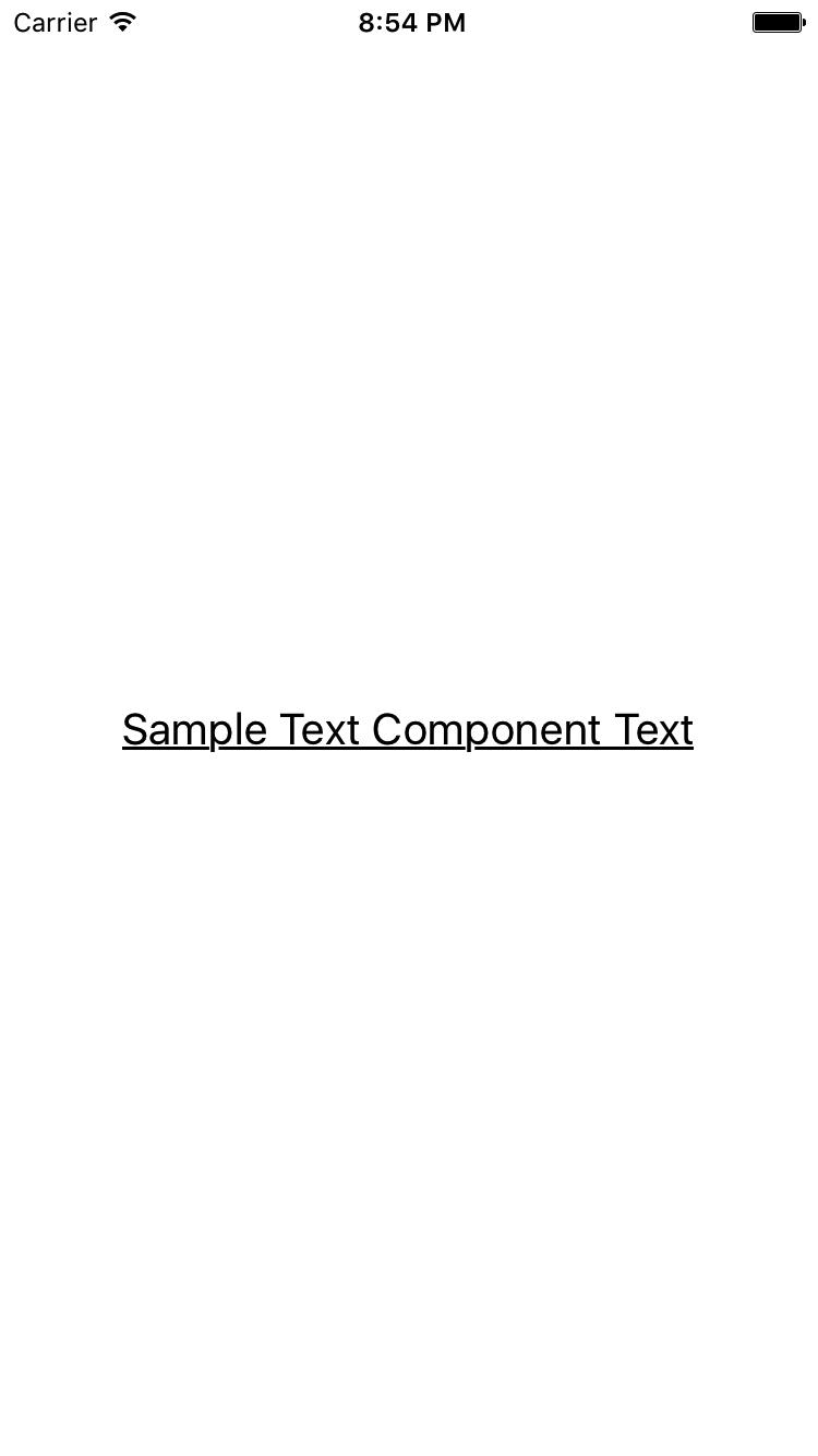 Underline Text