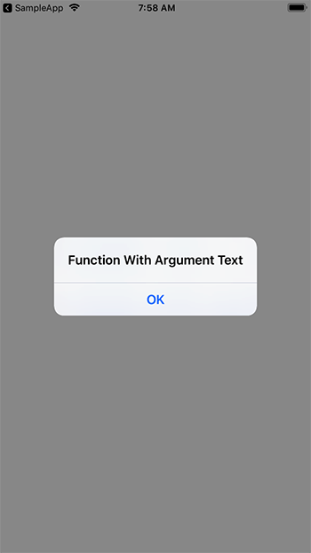 Calling Function