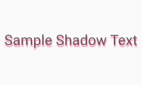 React Native Create Drop Shadow Effect Text in Android iOS Example