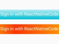 Create Gradient Shade Effect Button in React Native Android iOS Example