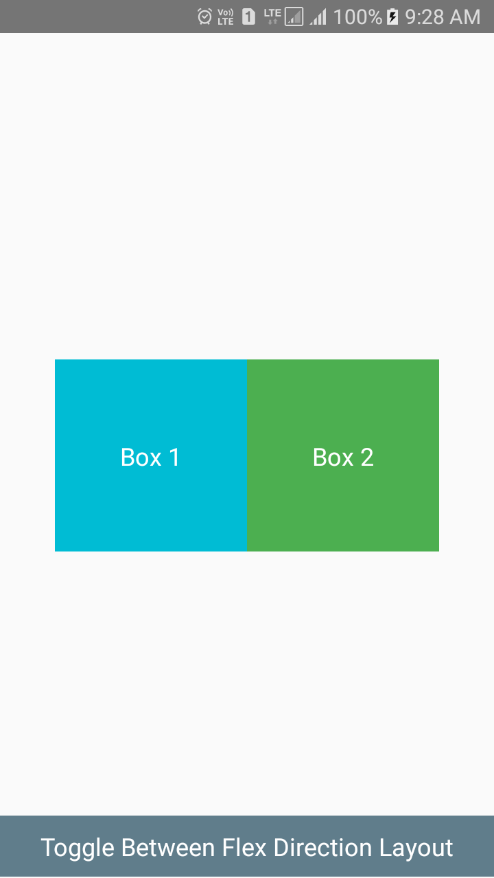 Layout Animation API Android iOS Example Tutorial