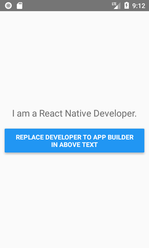 How to Find and Replace String in Text Component in React Native
