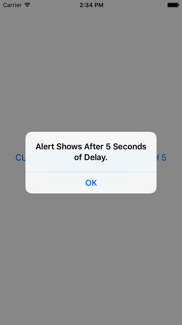React Native Call Function Task After Some Time Delay Using
