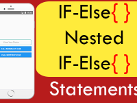IF-Else & Nested IF-Else conditional statement in React Native example