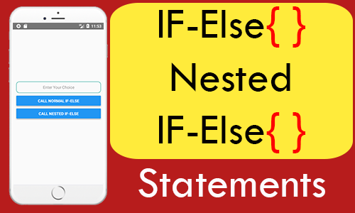 IF-Else & Nested IF-Else conditional statement in React