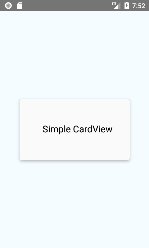 Creating Card View in Android iOS App