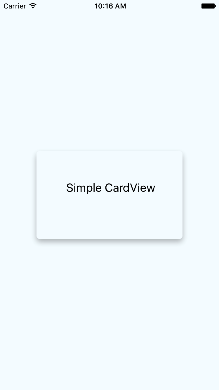 React Native Creating Card View in Android iOS App Example