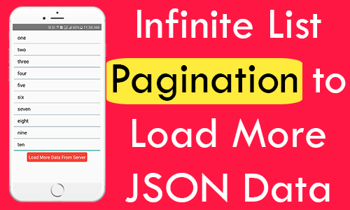 React Native Infinite List FlatList Pagination to Load More