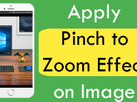 React Native Apply Pinch to Zoom Effect on Image iOS Android Example Tutorial