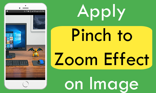 React Native Apply Pinch to Zoom Effect on Image iOS Android Example