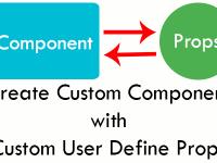 React Native Create Custom Component with custom user define Props