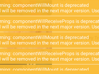 React Native Solve Warning componentwillmount is Deprecated and will be Removed in the Next Major Version