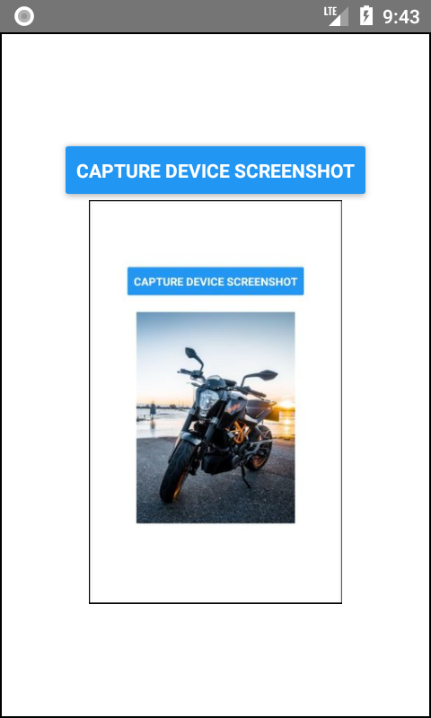 Take Screenshot of App Programmatically