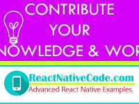 CONTRIBUTE YOUR KNOWLEDGE, WORK & CODE