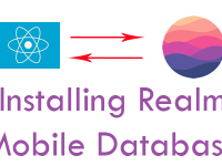 React Native Installing Realm Mobile Database in iOS Android Tutorial