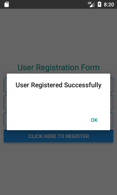 Local User Registration 2