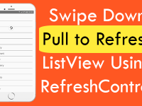React Native Swipe Down Pull to Refresh ListView Using RefreshControl iOS Android Example Tutorial