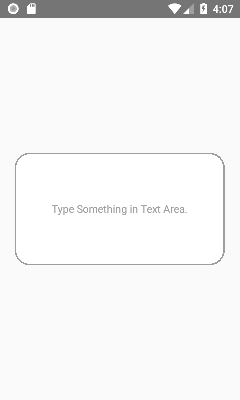 React Native Create Custom TextArea Component iOS Android