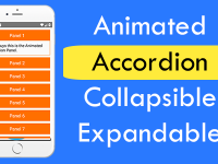 React Native Animated Accordion Collapsible Expandable iOS Android Tutorial