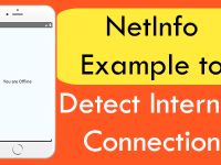 React Native NetInfo Example to Detect Internet Connection Android iOS
