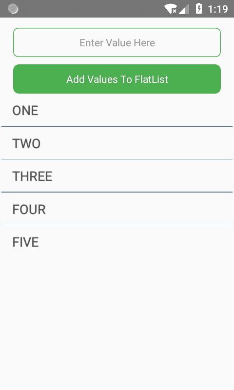 Add Items To FlatList Dynamically