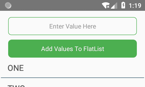 React Native Add Items To FlatList Dynamically using