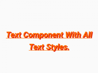 React Native List of All Text Component CSS Style Props Explained Example