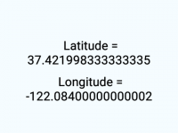 React Native Get Device Current Location Latitude Longitude Example