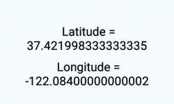 Get Device Current Location Latitude Longitude