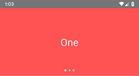 React Native Create ViewPager with Tab Title Dot Indicators iOS Android