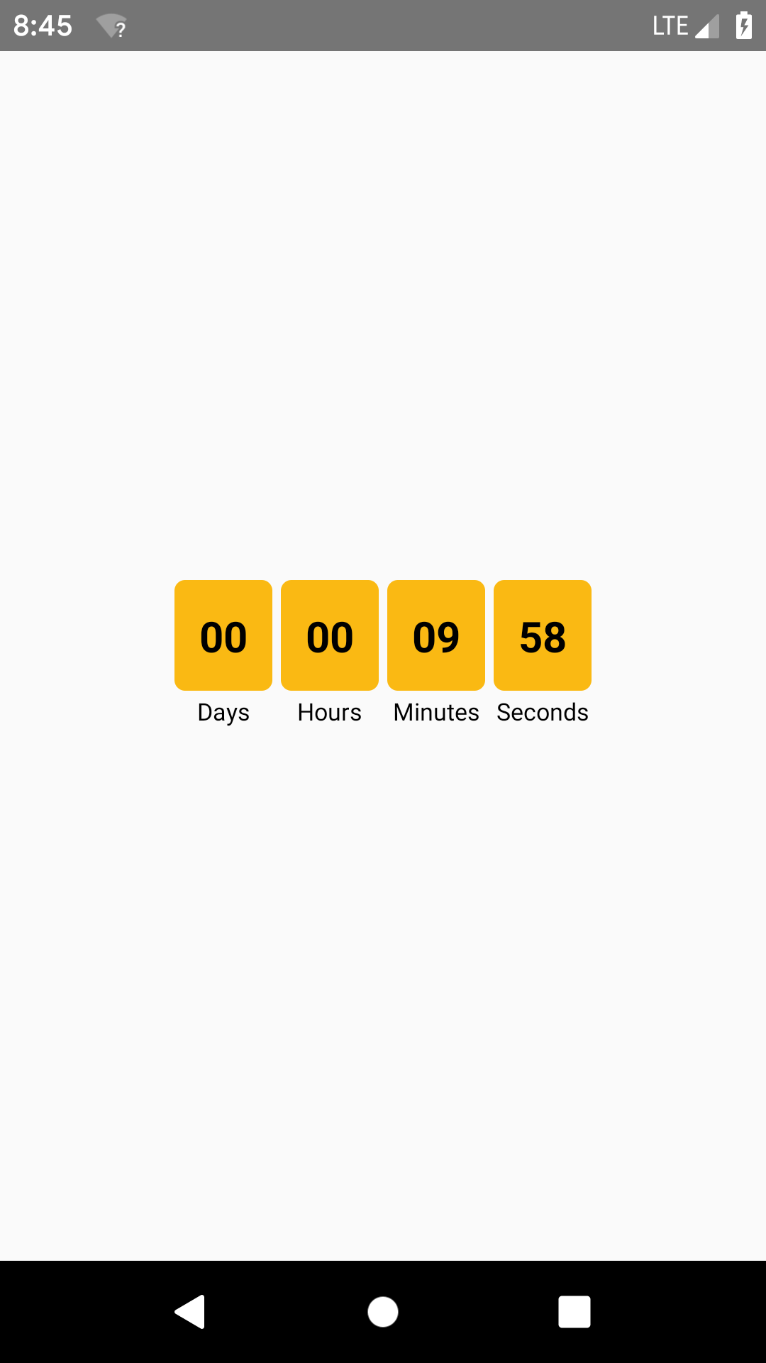 Create Custom Countdown Timer for Android iOS Tutorial