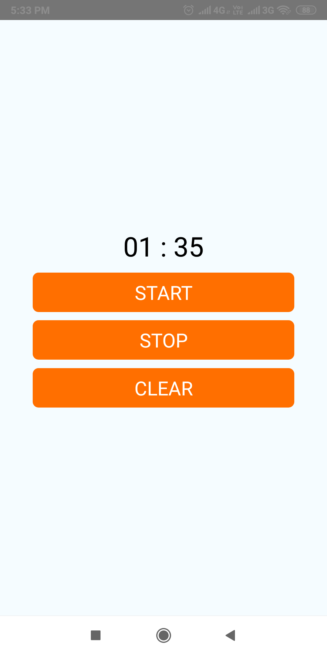 Create Stopwatch Timer