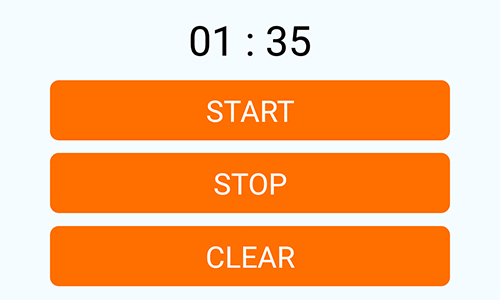 React Native Create Stopwatch Timer Android iOS Example Tutorial