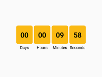 React Native Create Custom Countdown Timer for Android iOS Tutorial