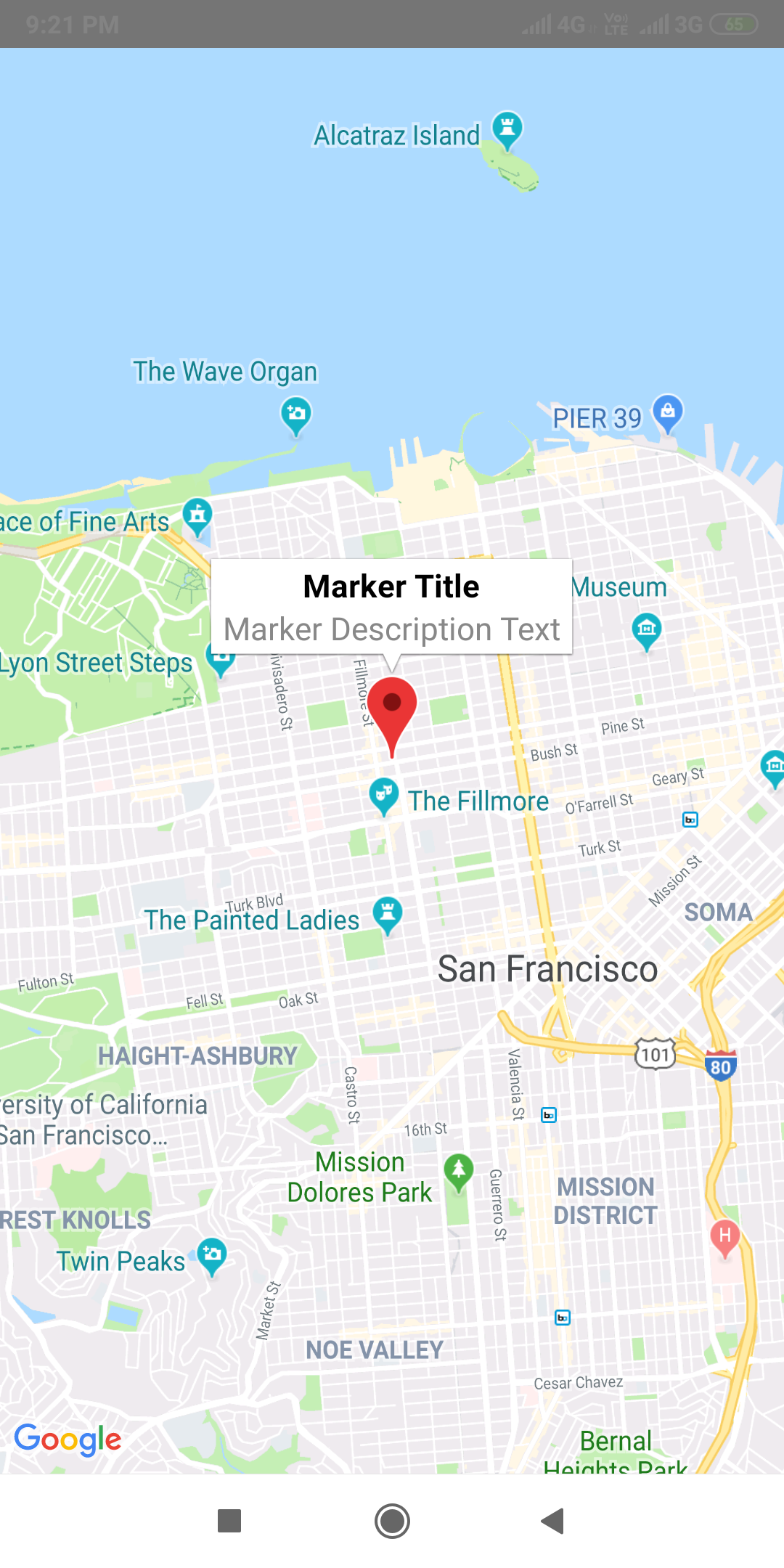 Integrate Google Maps in Android iOS App