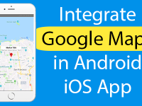React Native Integrate Google Maps in Android iOS App Example Tutorial