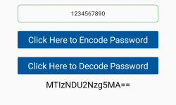 Password Encryption Decryption using Base64 Method