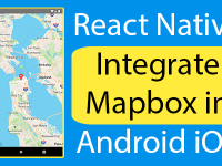 React Native Integrate Mapbox in Android iOS Example Tutorial