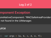RNCSafeAreaView was not found in the UIManager React Native iOS Error Solution