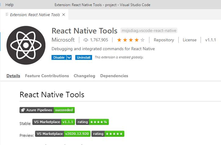 Setup React Native Environment in Visual Studio Code Editor Windows MAC Linux